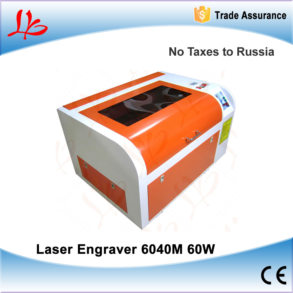 Russia Ukraine NO TAX, 60W CO2 Laser Engraver CNC Engraving Machine 6040M Mini Laser Cutting Machine for PCB, Wood Working diy mini laser machine 6040 6090 small laser cutting machine 60w laser engraver for wood