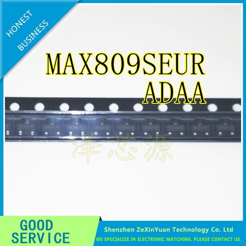 50 PCS MAX809REUR SOT-23 AFAA MAX809R MAX809 Microprocessor Reset Circuits