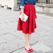 Spring Poodle Skirt for Women