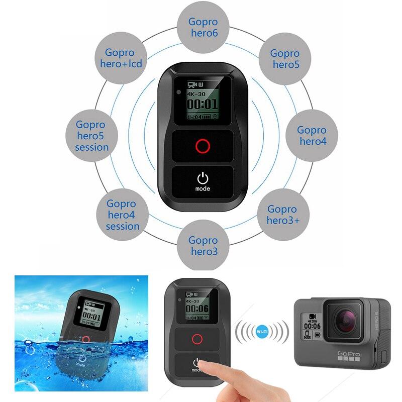 Télécommande Wifi universelle étanche pour Gopro hero 6 hero 5 4 3 + Smart Go Pro hero 7 télécommande sans fil aaccessoires
