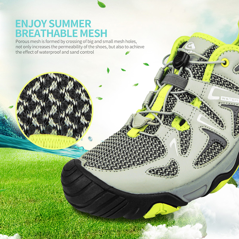 Clorts Beach Shoes Swimming Water Shoes for Men Breathable Outdoor Auqa Sneakers Quick-drying Water Shoes 3H027 shanghai kuaiqin kq 5 multifunctional shoes dryer w deodorization sterilization drying warmth