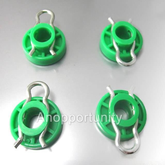 4*Front Green Window Regulator Roller For Saab 9-5 9-3 900 4493433