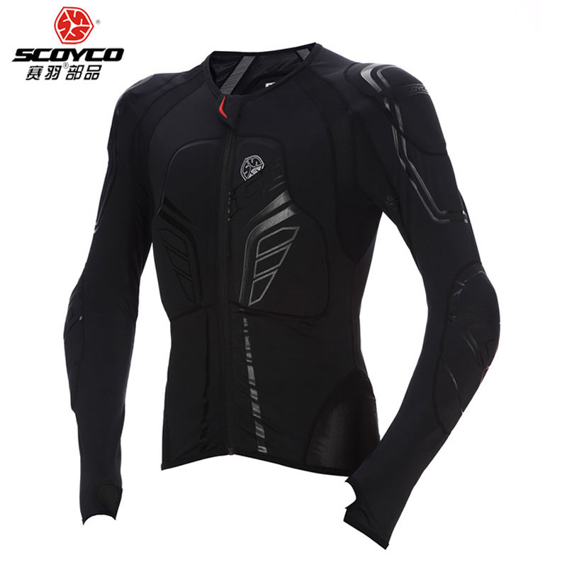 SCOYCO moto rcycle veste Protection équipement de Protection moto veste moto rbike armure de course armure de corps noir moto armure veste