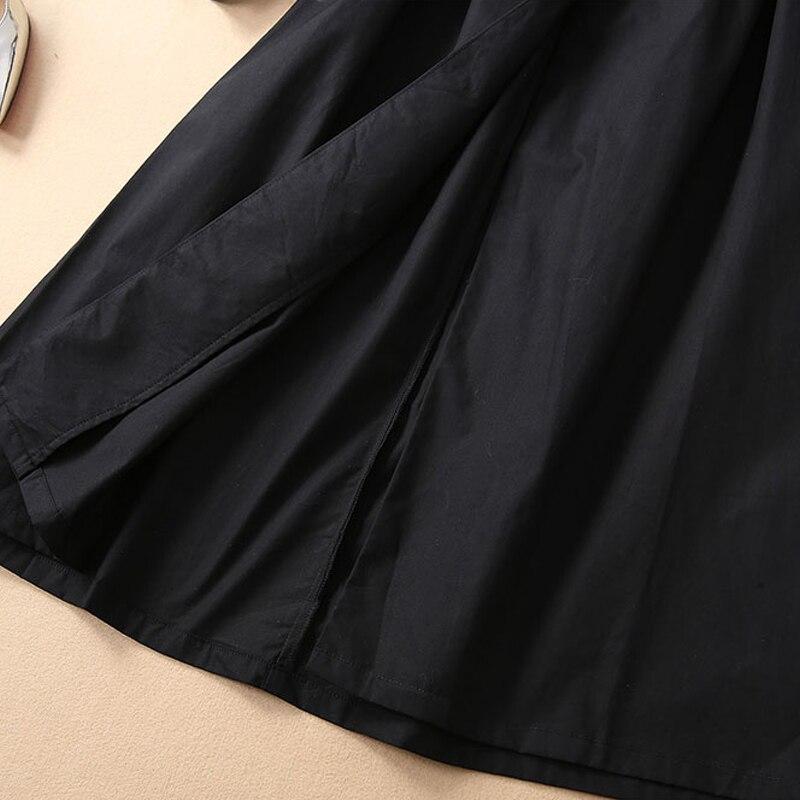 Kadın Giyim'ten Elbiseler'de Uzun elbise Pist Yüksek Kalite 2019 Bahar Yenİ Kadin Moda Parti Çalışması Vintage Zarif Şık Tatlı Siyah Uzun Kollu Elbiseler'da  Grup 2
