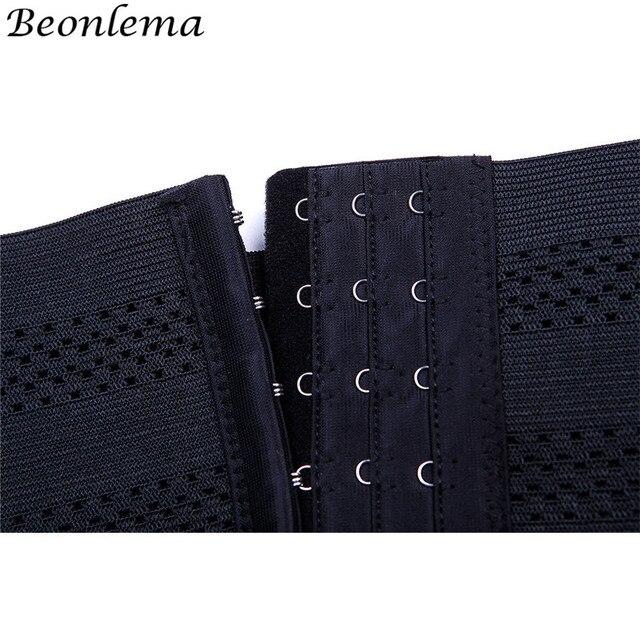 Beonlema Comfort  Shapers Body Slimming Elastic Weat Belt Tummy Corset Waist Trimmer Cincher No Bone faja reductora mujer 4