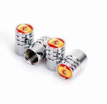 1set Stainless Steel Lengthened Car Wheel Tire Valve Caps Stem Air Car tire valve caps for Spain USA Germany F1 Flag Union Jack