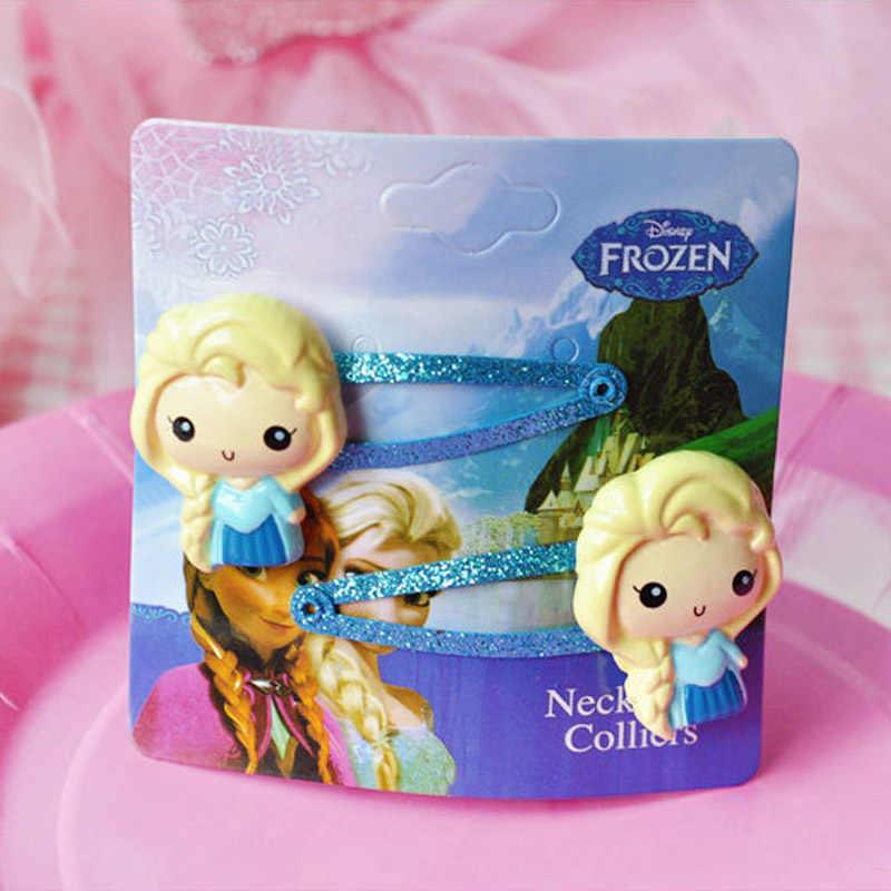 Горячие disney 10 шт./компл. симулирует Play игрушки Замороженные принцессы Эльзы Заколки для волос женщина девушка украшением для вечеринки, дня рождения подарок для девочек