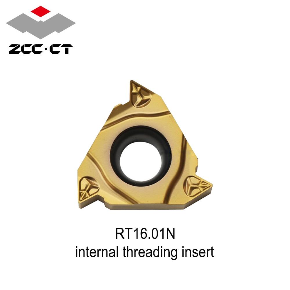 RT16 01N original zcc threading insert YBG201 Metric thread 1 0 1 5 2 5 2