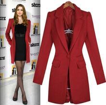 Cheap 2019 spring wool coat women overcoat casaco feminino abrigos mujer invierno jaqueta feminina manteau femme autumn red