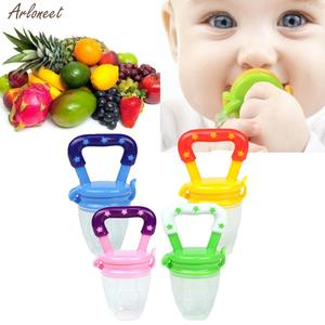 Toy-Ring Pacifier Vegetable Food-Supplement Fruit Toddlers Baby Silicone New Eat Safety