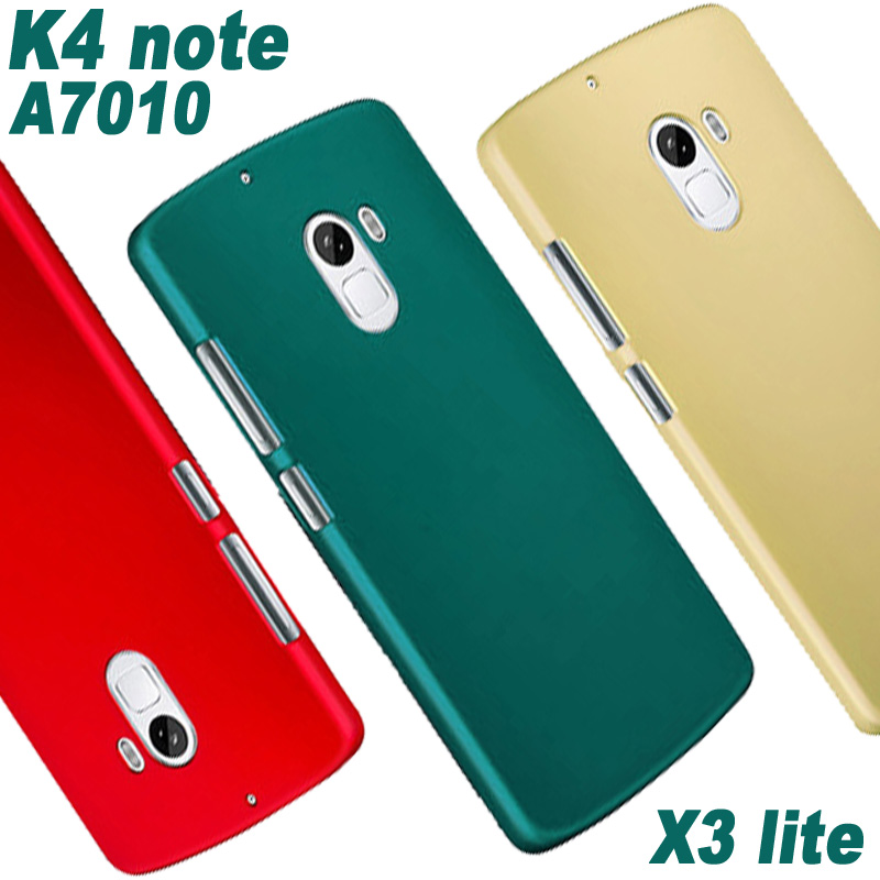 big sale ccfcb b917c US $1.99 |Original Lenovo k4 note a7010 case cover plastic Red/Black/Blue  Print pc case for Lenovo vibe x3 lite a 7010 k4note phone case-in ...