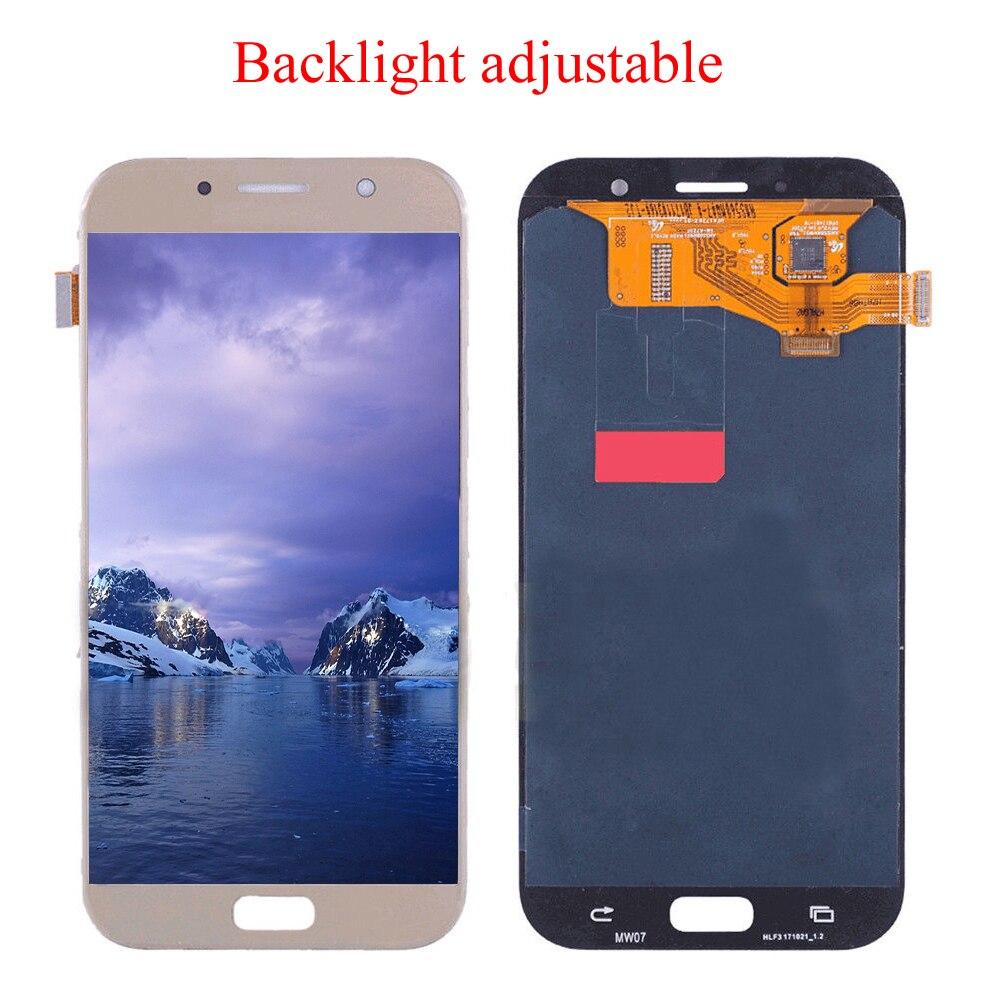 Pour Samsung Galaxy A7 2017 Écran Oled écran tactile ensemble de digitaliseur pour Samsung A720F A720M A720Y Affichage A720 LCD Tactile