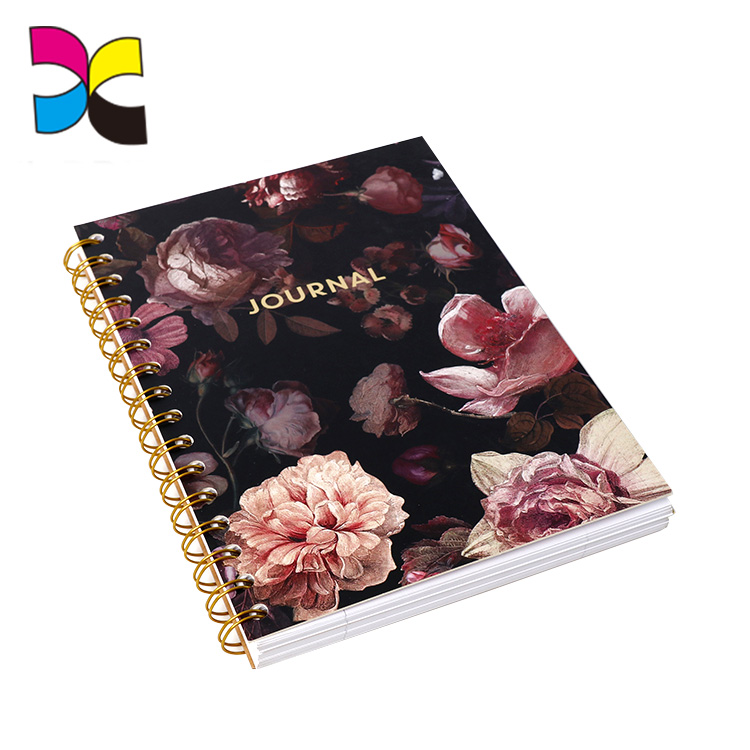 Hot Sell Careful Professional Teams Services Customized Design A5 Notebook Printing