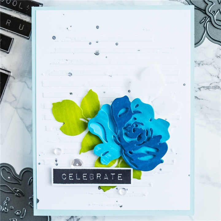 Eastshape Flower Clear Stamps and Metal Cutting Dies Floral Scrapbooking New 2019 Making Card Craft Dies Set Embossing Stencils in Cutting Dies from Home Garden