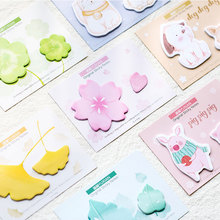 40 sheets Kawaii Message Memo Pad kawaii Self-Adhesive N Times Sticky Notes stationery School Supplies Planner label Stickers free shipping 400sheet bag 76x19mm multicolour sticky pepsi stickers n times stickers self stick notes office supplies