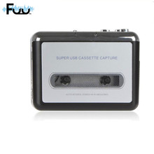 2017 Cassette Reproductor de Cassette USB Portable CD Mp3 Converter Captura Reproductor de Música del PC Cinta Cassete de Audio Mp3 Convertir La Música En cinta