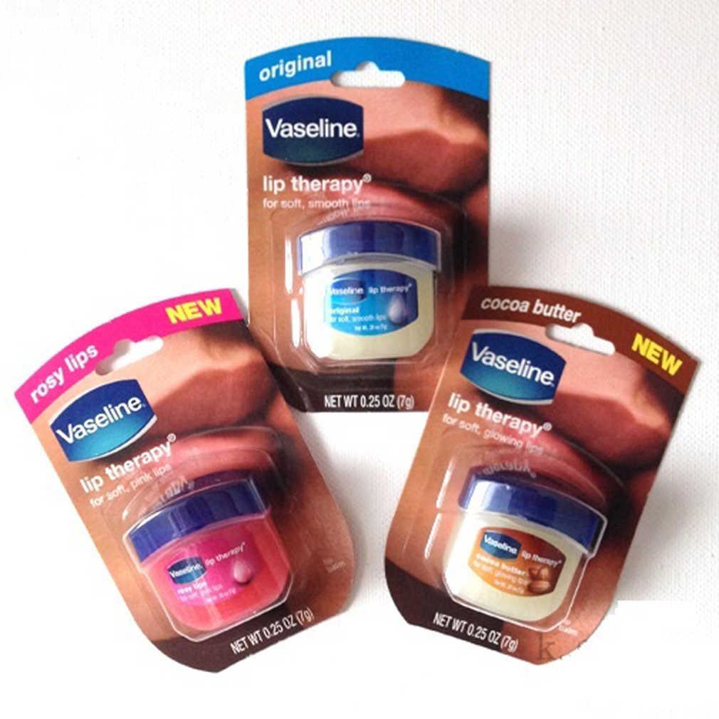 0,25 Oz maquillaje de labios cuidado vaselina terapia de labios petróleo jalea labio bálsamo mano pie humedad de larga duración