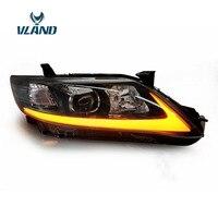 VLAND фабрика для автомобиля головная лампа для Camry светодиодный фара 2009 2010 2011 Camry V40 светодиодный головного света с дневной свет H7 ксеноновая л