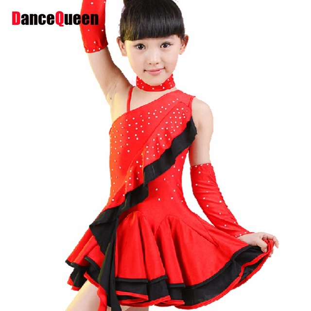 2017 New Latin Dance Dress For Girls Black Red Color Children Clothes For Dancing Kids Salsa_640x640 aliexpress com buy 2017 new latin dance dress for girls black,Ance K Childrens Clothes