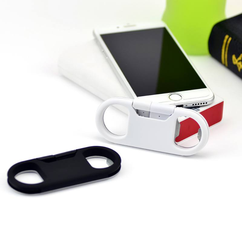 Portable Mutifunction Metal Keychain Bottle Opener Usb Data Charge Sync Cable For Iphoneiphone 5/5s/6/6s/6 Plus Ipad Ipad Mini Attractive And Durable Data Cables Consumer Electronics