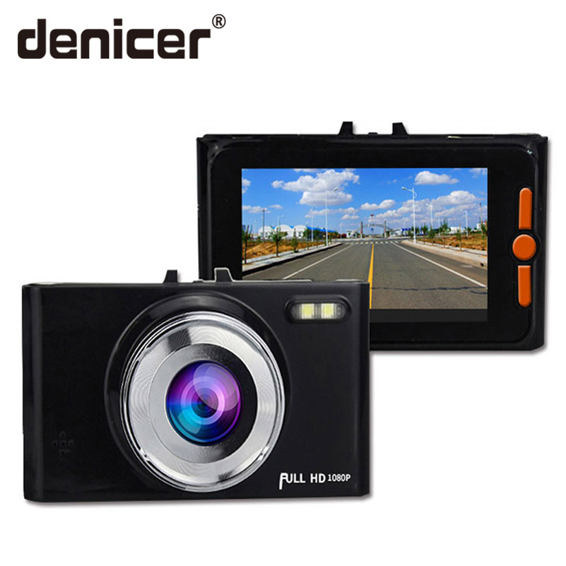 Denicer Dash Camera Full HD 1080P in Auto Car Vehicle Video Recorder Camera DVR G-sensor Dashboard Cam With Night Vision