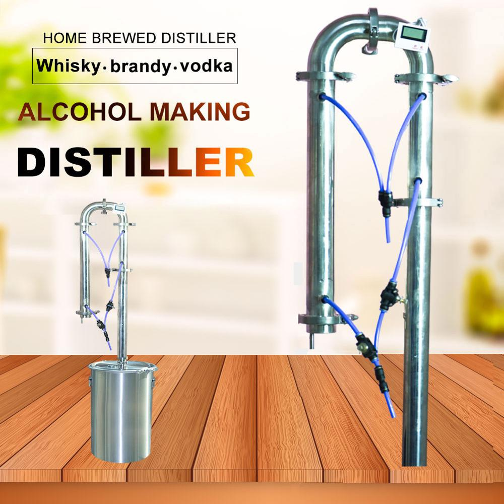 New distiller family brewing equipment brandy whiskey vodka moonshine wine beer brewing tools single sales distillation