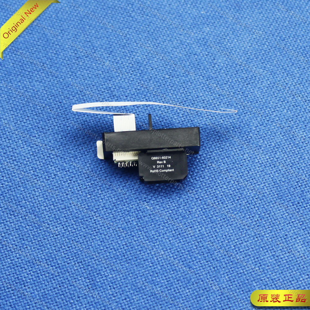 Q6651-60297 Carriage lamp for HP DesignJet 4000 4020 4500 L25500 Z6100 Z6100PS plotter part Original used