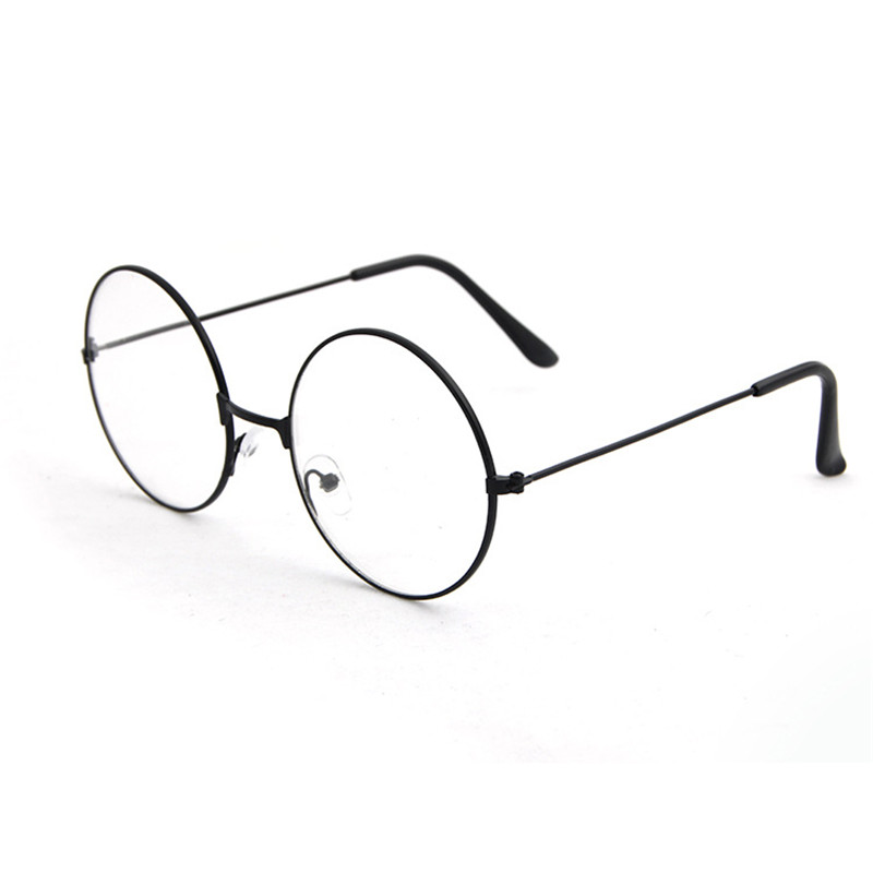 Fashion Transparent Round Glasses frame Women Spectacle Myopia Men EyeGlasses Frame Nerd Optical frames