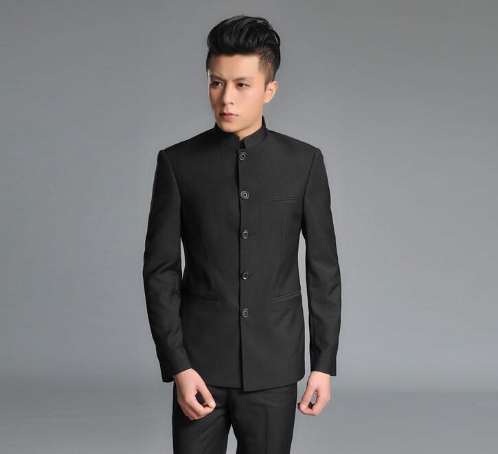 Hochzeit Mit Business 2019 Chinesische Kleid silber Männer