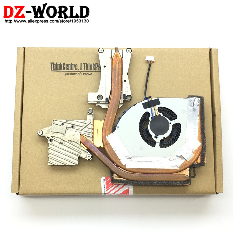 цены New Original for Lenovo ThinkPad W540 W541 SWG Q1 Discrete Graphics Heatsink CPU Cooler Cooling Fan 04X1894