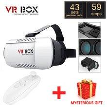 VRแว่นตาG Oogleกระดาษแข็งVRกล่อง1.0รุ่นความจริงเสมือนแว่นตา3D +บลูทูธไร้สายควบคุมระยะไกล