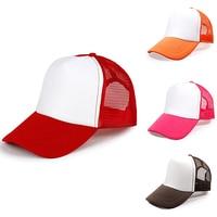 Fashion Unisex Trucker Cap Baseball Mesh Adjustable Hats