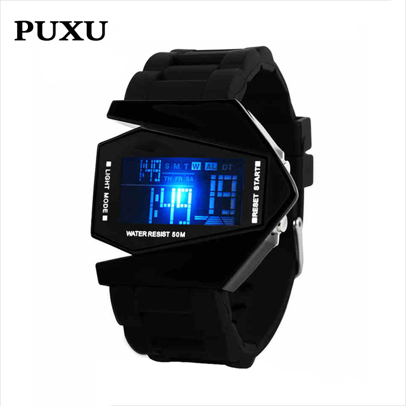 Clock Wristwatches Movement Gift Sports Waterproof Electronic Luminous Children Women