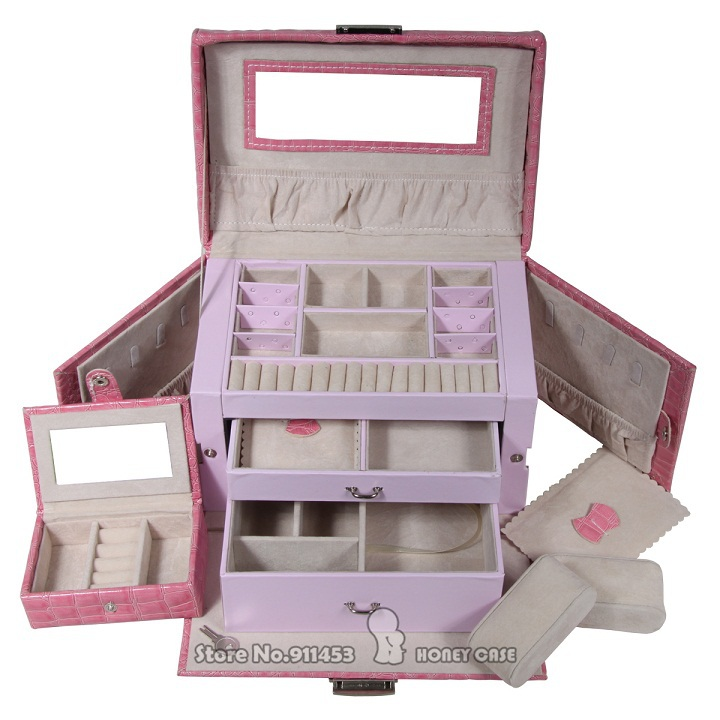 Jewelry Box Small Butterfly Fashion Princess Dressing Married Birthday Gift Grown Up Gifts Womens Day GiftsFree Shipping In Packaging Display