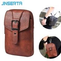 JINSERTA For Xiaomi Mi Max MAX2 Case Universal Multifunction Wallet Leather Bag Waist Belt Clip Pouch