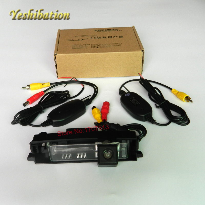Wireless HD Back Up Reverse Camera For Toyota Vanguard 2006~2012 CCD Night Vision Reverse Camera