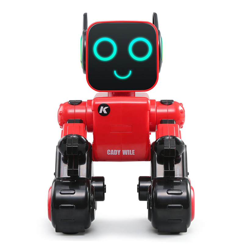 1 Pcs R4 Cady Wile Robot Educational Funny Robot Toy For Children Money Management Magic Sound Interaction Rc Robots Non-Ironing