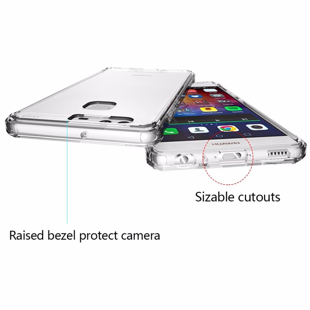 för P9-fodral Klar skyddsfodral för Huawei Mate 9 Väska - Reservdelar och tillbehör för mobiltelefoner - Foto 6