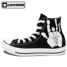 Men Women Converse All Star Skull Roses Custom Original Design Hand Painted Shoes Woman Man Sneaker Birthday Gifts