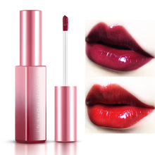 Pudaier 6 Color Liquid Lipstick 3D Mirror Lip Glaze Long Lasting Moisturizing Waterproof Jelly Balm Red Velvet Gloss 8ML