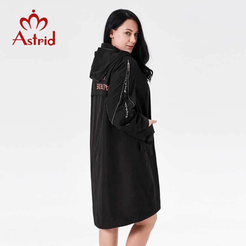 2019 graben mantel frühling frauen Mit Kapuze Mode weibliche graben kleidung Klassische manteau femme hiver Ukraine damen neue astrid ALS- 7007