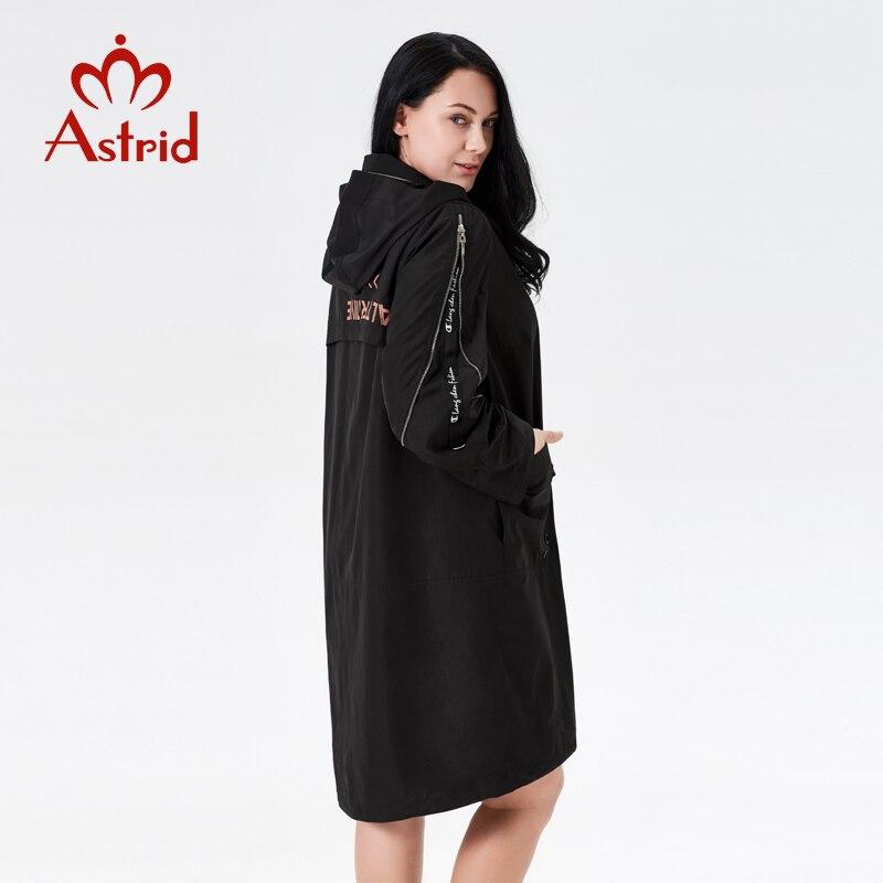 Black Astrid Nouveau Mode Capuchon Femmes 2019 Trench Comme Femme Trench Printemps Classique 7007 À coat Manteau Vêtements Hiver L'ukraine Dames AnaqWwfaH