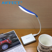 AIFFECT Portable Mini USB Led Lamp Flexible LED In-line Light Ultra Bright 14 LEDS for Laptop Notebook PC Computer