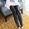2017 Faux Leather Leggings for Women Sexy Ladies Large Size Legging Pants Trouser Super Elastic Stretch Skinny Pants Jeggings