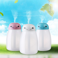 New Cute Baymax Air Humidifier Colorful Light Night Mist Maker Fogger 3 Colors USB Diffuser For