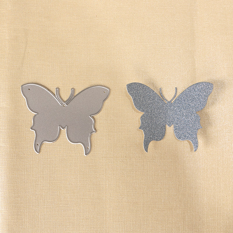 010086 3pcs Large size elegant butterfly set Stencils metal 3D Cutting die for DIY embossing craft project Scrapbook Paper Album in Cutting Dies from Home Garden