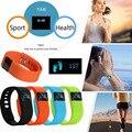 Smartband TW64 banda inteligente Bluetooth 4.0 Pedômetro de Fitness Rastreador Para iphone samsung smart pulseira pk fitbit banda mi 2 com caixa