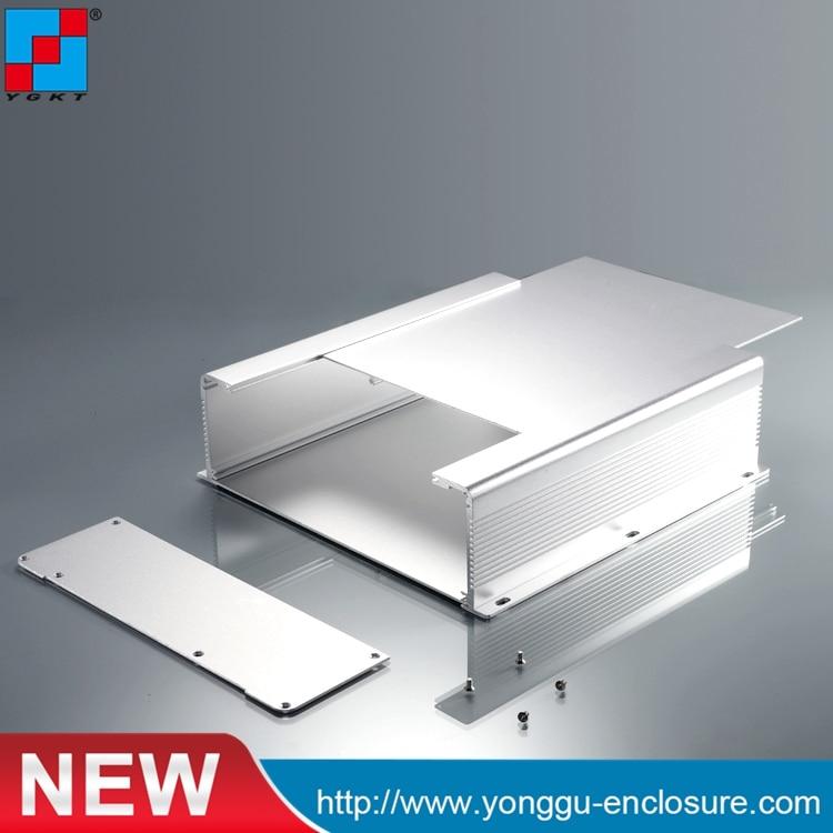 цена на 250*73.5*250 mm (WxHxL) (1pcs/lot) extruded aluminum enclosure electronic box aluminum junction box aluminum case