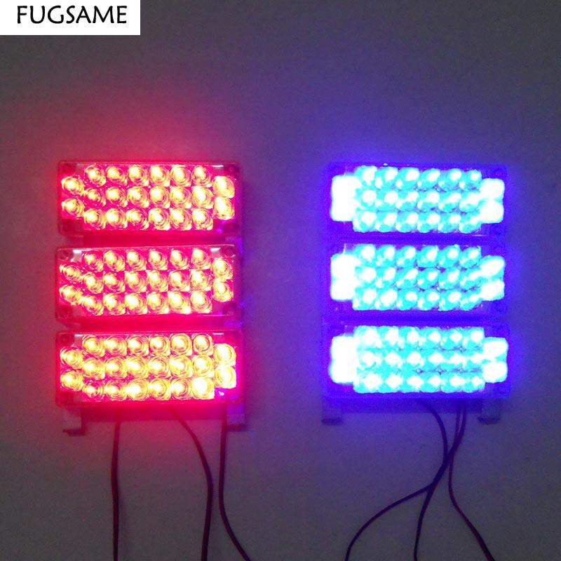 FUGSAM 6x22 LED Strobe Fənər Xəbərdarlıq EMS Polis İşıq - Avtomobil işıqları - Fotoqrafiya 4