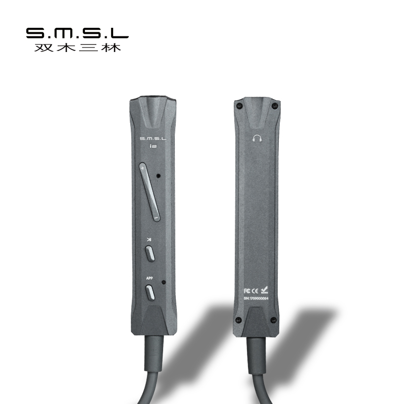 SMSL I2 Hifi Mini Fulmini Decoder Amplificatore Per Cuffie DAC Amp per iOS Iphone Portatile Built-In Microfono connettore Fulmine